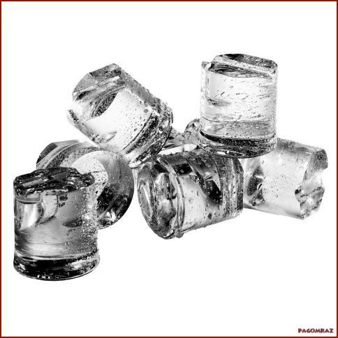 Гурмет коцки мраз 5 кг